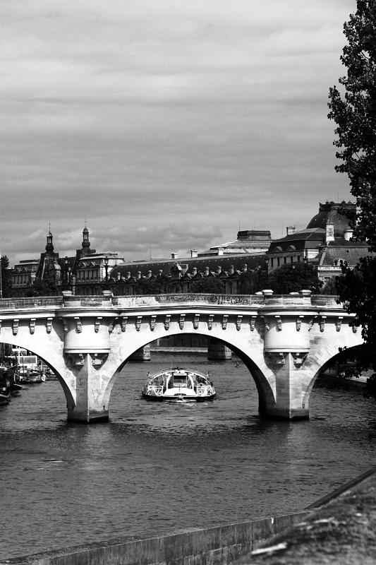 puente sobre el Sena